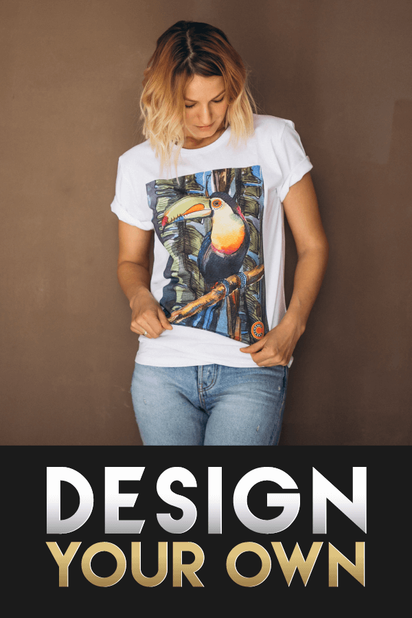 DESIGN YOUR OWN T-SHIRT PIC