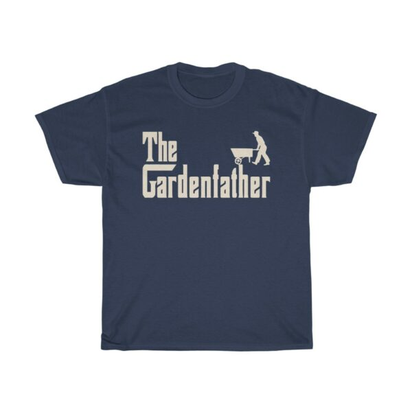 The Gardenfather Father's Day t shirt dark blue