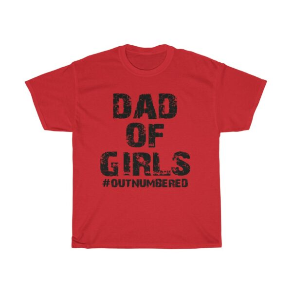 Dad Of Girls red