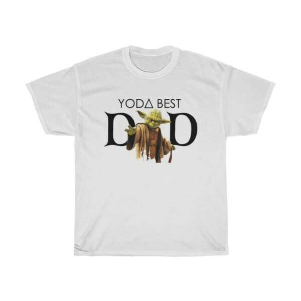 Yoda Best Dad Father's Day T shirt
