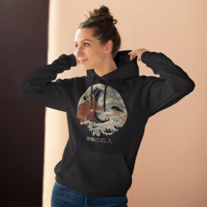 Attack On Titan The Great Wave Hoodie