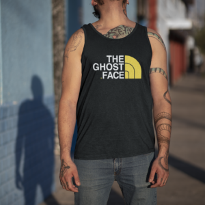 The Ghost Face Tank Top